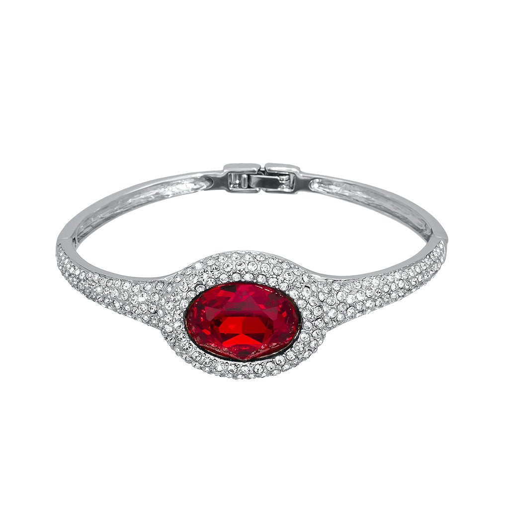 Red Royalty Bangle
