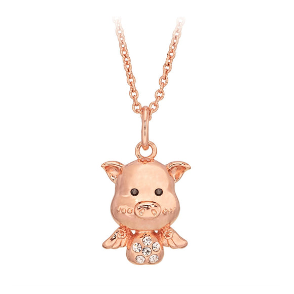 Cute Pig Necklace / Pendant