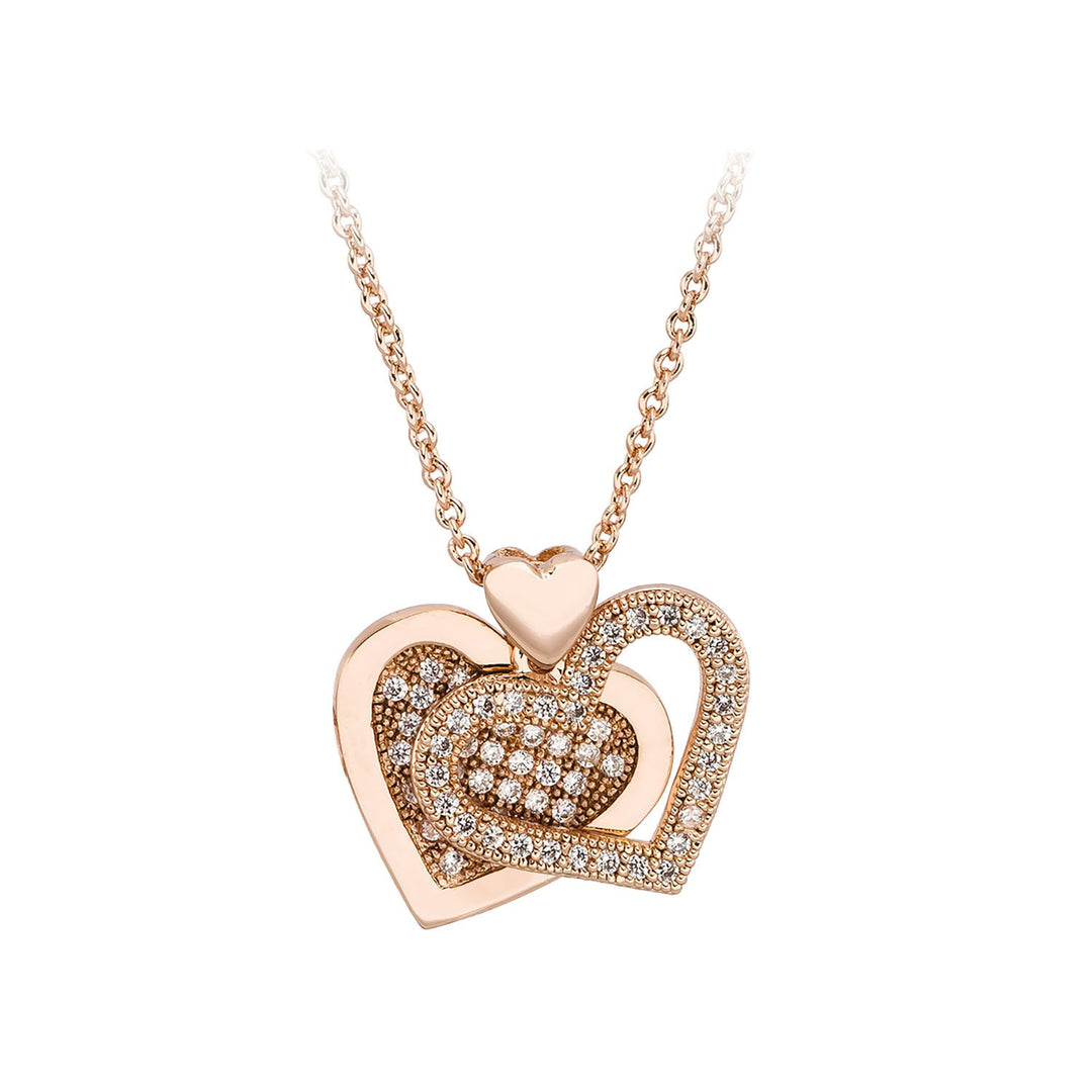 Love and Heart Necklace / Pendant