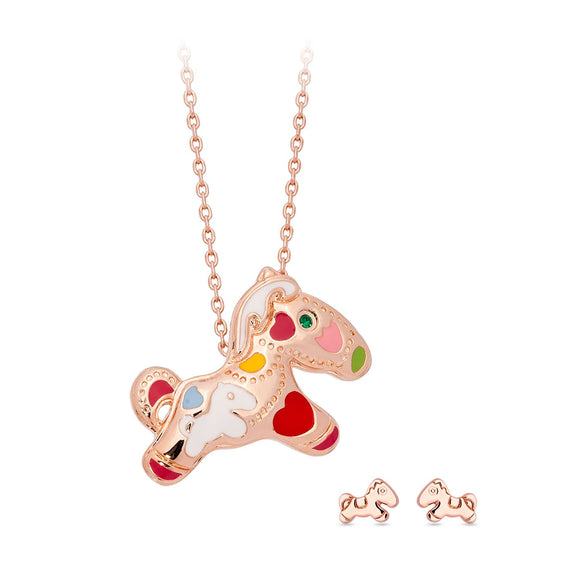 Carnival Pony 3D Necklace / Pendant