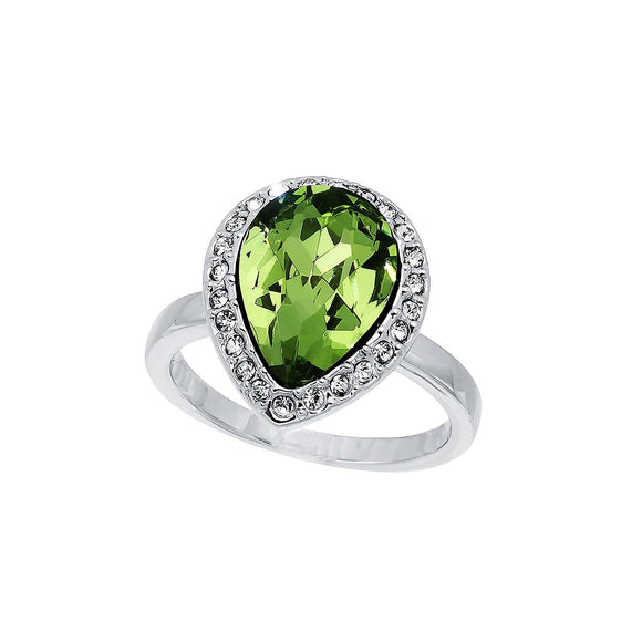 Royal Peridot Ring