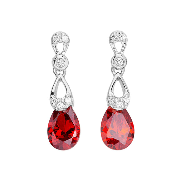 Red Royalty Earrings