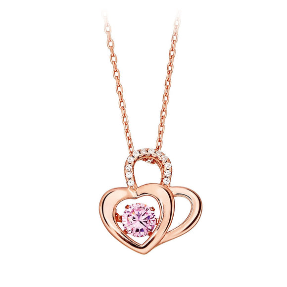 Heart To Heart Necklace / Pendant