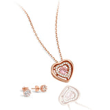 Amour Heart + Crown Jewellery Set