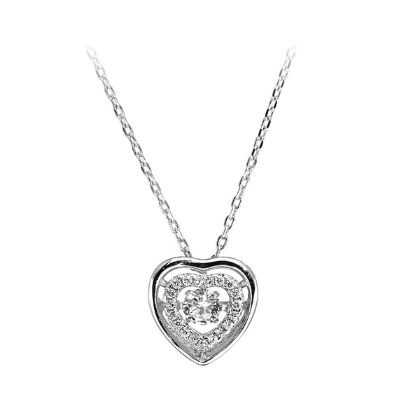 Amour Heart Necklace / Pendant