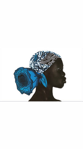 Melanated Art Print