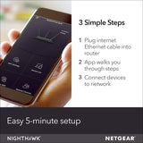 NETGEAR Nighthawk R6700 AC1750 Smart Dual Band Wi-Fi Gigabit Router