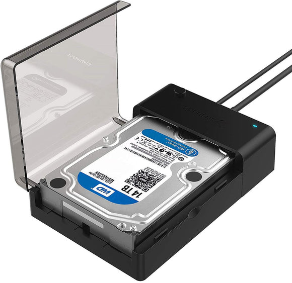 Sabrent USB to SATA Hard Drive Docking Station for 2.5 or 3.5in hard drives