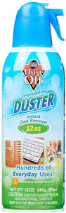 12oz Dust-Off Compressed Can of Gas Duster