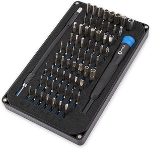 Electronics Repair Screwdriver Kit w/64 Precision Bits