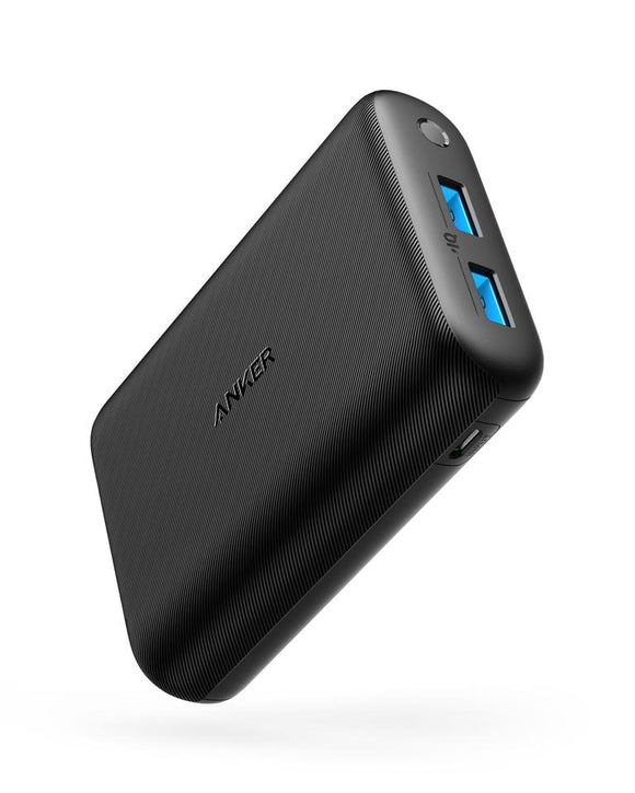 Anker PowerCore 15000 Redux, Compact 15000mAh 2-Port Ultra-Portable Power Bank