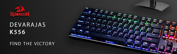 Redragon K556 RGB LED Backlit Gaming Keyboard