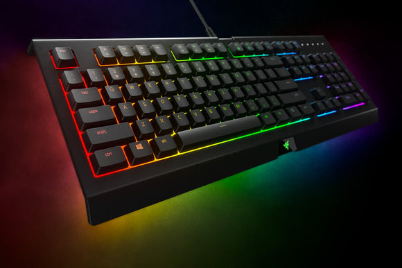 Razer Cynosa Chroma RGB Backlit Gaming Keyboard - Black