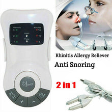 Load image into Gallery viewer, Rhinitis Allergy Reliever Anti Snoring Device Laser Therapy Nose Massager Low Frequency Pulse Sinusitis Treatment Health Care - My Little Decors.com
