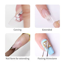 Load image into Gallery viewer, BORN PRETTY 60ml Acrylic Liquid Nail Polish Crystal Acrylic Powder Solution for Manicuring Carving Nail Art Extension Tool - My Little Decors.com