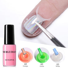 Load image into Gallery viewer, NICOLE DIARY Peel Off Liquid Tape Odor-free Nail Edge Skin Care Liquid Nail Art Gel Latex Edge Protection Easy Removing Tool - My Little Decors.com