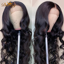 Load image into Gallery viewer, Closure Wig Lace Front Wig Human Hair Body Wave Human Hair Wigs For Black Women Dorisy Peruvian Non Remy Hair Lace Front Wig - My Little Decors.com