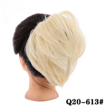 Load image into Gallery viewer, AILIADE Messy Hair Bun Scrunchie For Women hairpiece Extensions High Temperature Fiber Synthetic Straight Ring Wrap Chignon - My Little Decors.com