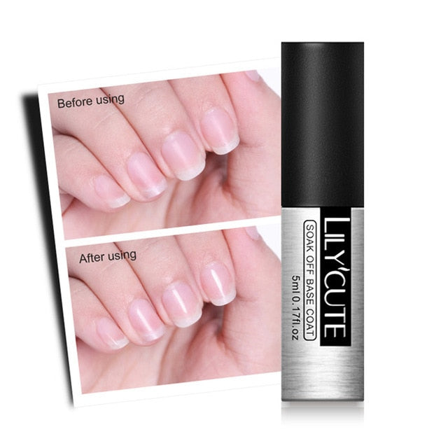 LILYCUTE 5ml Quick Extension Gel White Clear Acrylic Poly UV Gel Soak Off Crystal Jelly Finger Building Gel Tips - My Little Decors.com