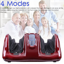 Load image into Gallery viewer, 220V Electric Heating Foot Body Leg Massager Shiatsu Kneading Roller Vibrator Machine Reflexology Calf Leg Pain Relief Relax - My Little Decors.com