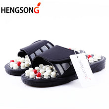 Load image into Gallery viewer, Acupoint Massage Slippers Sandal For Men Feet Chinese Acupressure Therapy Medical Rotating Foot Massager Shoes Unisex - My Little Decors.com