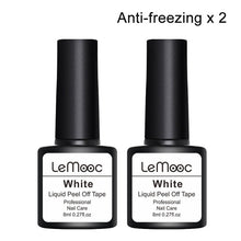 Load image into Gallery viewer, Lemooc 8ml Antifreezing Peel Off Liquid Tape Cream Nail Latex Cuticle Guard Protection Finger Skin Nail Art Care - My Little Decors.com
