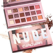 Load image into Gallery viewer, 18 Colors Nude Shining Eyeshadow Matte Makeup Glitter Pigment Smoky Eye Shadow Pallete Waterproof Powder 9 Colors Cosmetics - My Little Decors.com