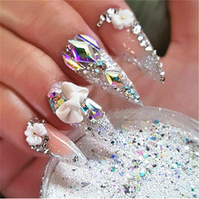 Load image into Gallery viewer, Nail Art Rhinestone Gel Glue Super Sticky Adhesive UV Gel Nail Polish Glue for DIY Nail Art Crystal Gems Jewelry Decoration - My Little Decors.com