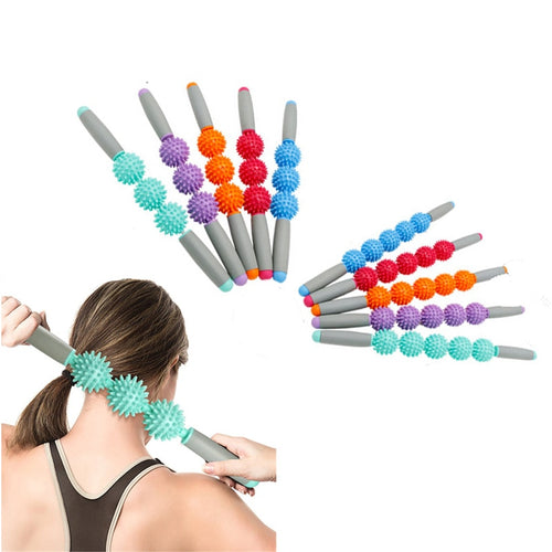 Anti Cellulite Massager Stick Anti-Cellulite Trigger Point Stick Body Foot Face Leg Slimming Massage Muscle Roller - My Little Decors.com