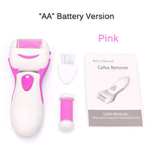 Load image into Gallery viewer, Rechargeable Electric Feet File Velvet Smooth Foot Care Grinding Tool Pedicure Machine Hard Dry Dead Cuticle Skin Callus Remover - My Little Decors.com