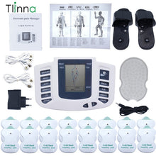 Load image into Gallery viewer, EMS Body Electrical Muscle Stimulator Tens Acupuncture Slimming Massager 16 Pads Digital Therapy for Back Neck Foot Health Care - My Little Decors.com