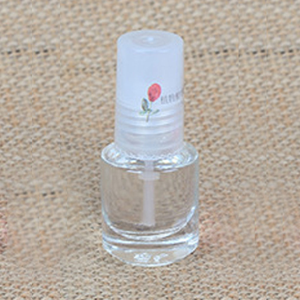 DIY Nail Art Decorations Health Transparent Top Coat Clear 5ml Enhance Glitter Nail Polish Nail Art Tips Polish - My Little Decors.com