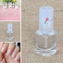 Load image into Gallery viewer, DIY Nail Art Decorations Health Transparent Top Coat Clear 5ml Enhance Glitter Nail Polish Nail Art Tips Polish - My Little Decors.com