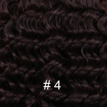 Load image into Gallery viewer, 2 pieces/lot Deep Wave Synthetic Hair extensions Color Dark grey fiber Weave hair for woman - My Little Decors.com