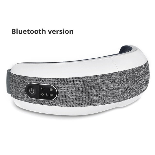 KLASVSA Smart Eye Massager Air Compression Heated Massage For Tired Eyes Dark Circles Remove Massage Relaxation - My Little Decors.com