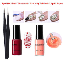 Load image into Gallery viewer, NICOLE DIARY Peel Off Liquid Tape Form Nail Polish Protection Finger Skin Cream Whit Latex Protected Glue Easy Clean Nail Polish - My Little Decors.com