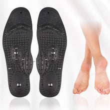 Load image into Gallery viewer, Magnetic Silicone Gel Insoles Weight Loss Therapy Slimming Arch Support Shoes Pads Therapy Massage Foot Acupressure Pad insert - My Little Decors.com