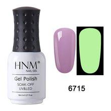 Load image into Gallery viewer, HNM Luminous Rose Gold Nail Gel Polish Night Glow In Dark Fluorescent Vernis Lacquer Soak Off Varnishes UV LED Semi Permanent - My Little Decors.com