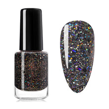 Load image into Gallery viewer, NICOLE DIARY 73 Colors Nail Polish Red Gray Glitter Pearl Nail Art Varnish Water-based Nail Art varnish 6ml - My Little Decors.com