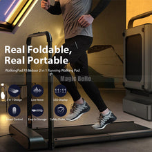 Load image into Gallery viewer, Pro WalkingPad R1 Treadmill 2 In 1 Smart Folding Walking and Running Machine Fitness Exercise with Handrail - My Little Decors.com