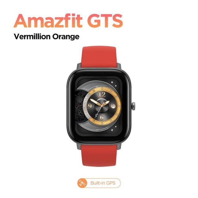 Global Version Amazfit GTS Smart Watch 5ATM Waterproof Swimming Smartwatch 14 Days Battery Music Control for Android - My Little Decors.com