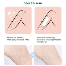 Load image into Gallery viewer, 20ml Permanant Hair Growth Removal Inhibitor Spray Beard Bikini Intimate Legs Body Armpit Painless Facial Stop Hair Agent - My Little Decors.com