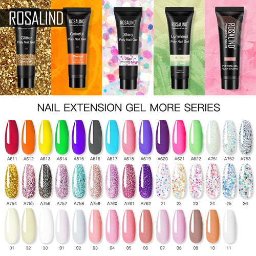 ROSALIND Gel for Nails Extensions - My Little Decors.com