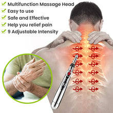 Load image into Gallery viewer, Multi-Function Electronic Acupuncture Massage Pen Smart Pulse Meridian Energy Pen Pain Relief for Back Neck Face Beauty Roller - My Little Decors.com