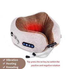 Load image into Gallery viewer, Electric Neck Massager U shaped Pillow Multifunctional Portable Shoulder Cervical Massager Outdoor Home Car Relaxing Massage - My Little Decors.com