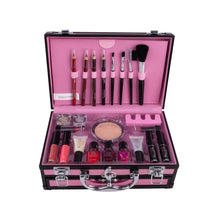 Load image into Gallery viewer, Professional Makeup Set Box Suitcase Makeup Kit Lipstick Makeup Brushes Nail Polish Set Cosmetic For Makeup Eyeshadow Palette - My Little Decors.com