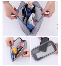 Load image into Gallery viewer, UOSC Travel Cosmetic Bag Women Zipper Make Up Transparent Makeup Case Organizer Storage Pouch Toiletry Beauty Wash Kit Bags - My Little Decors.com