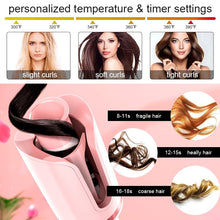 Load image into Gallery viewer, AmazeFan Automatic Curling Iron Rotating Professional Curler Styling Tools for Curls Waves Ceramic Curly Magic hair curler - My Little Decors.com