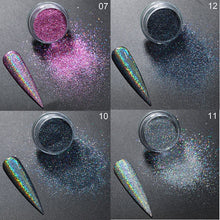 Load image into Gallery viewer, Silver Pink Nail Glitter - My Little Decors.com