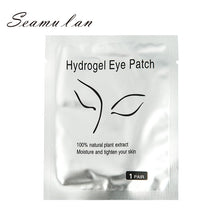 Load image into Gallery viewer, 50pairs/Lots Eye Paper Patches False Eyelash Grafted Eyelashes Under Eye Pads Lint Free Stickers Makeup for Eyelash Extension - My Little Decors.com